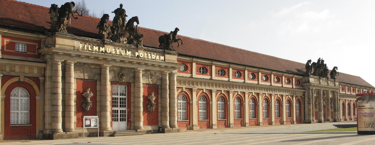 Das im Marstall untergebrachte Filmmuseum Potsdam